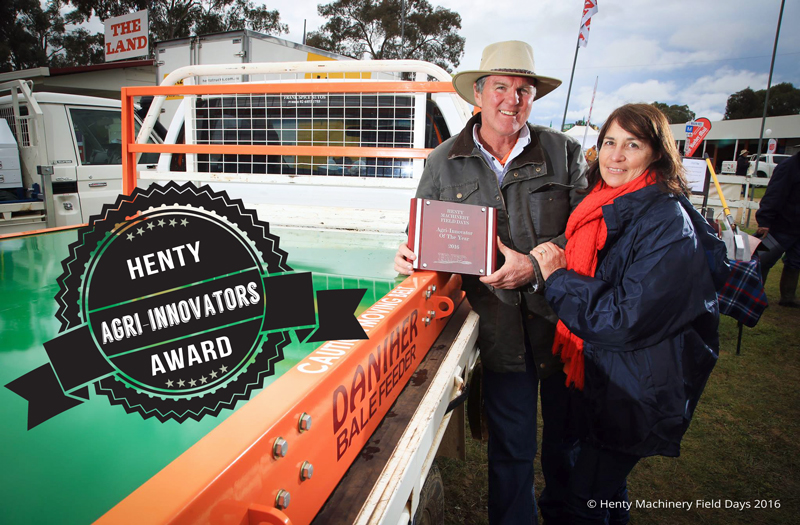 Daniher Bale Feeder - Henty Agri-Innovators Award